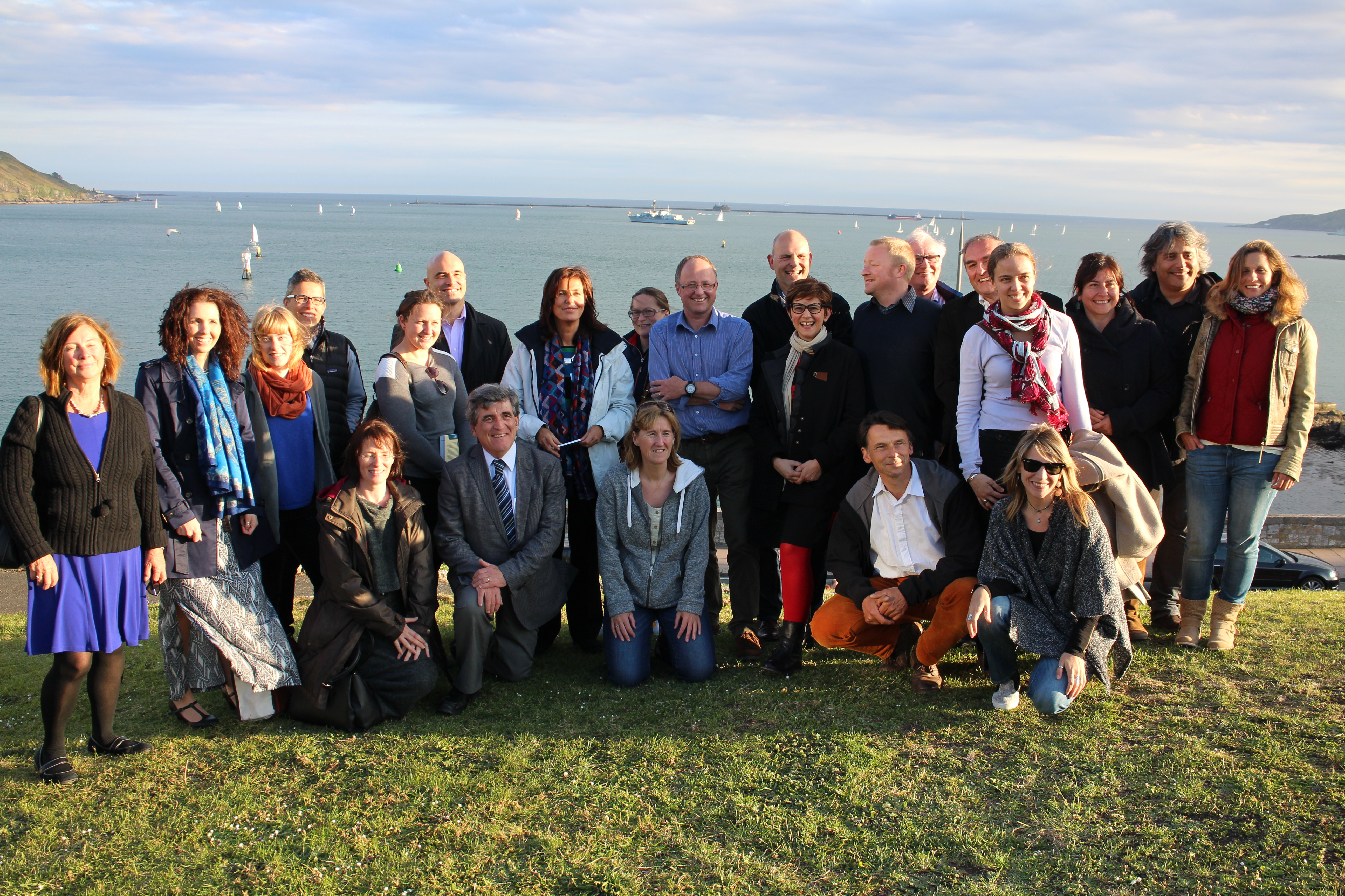 Sea Change Consortium at the kick-off meeting in Plymouth